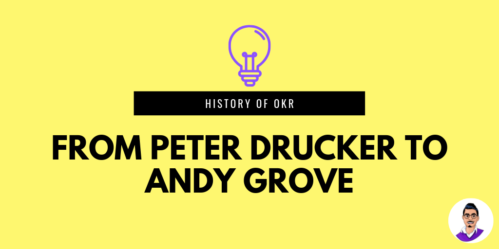History of OKRs – From Peter Drucker to Andy Grove